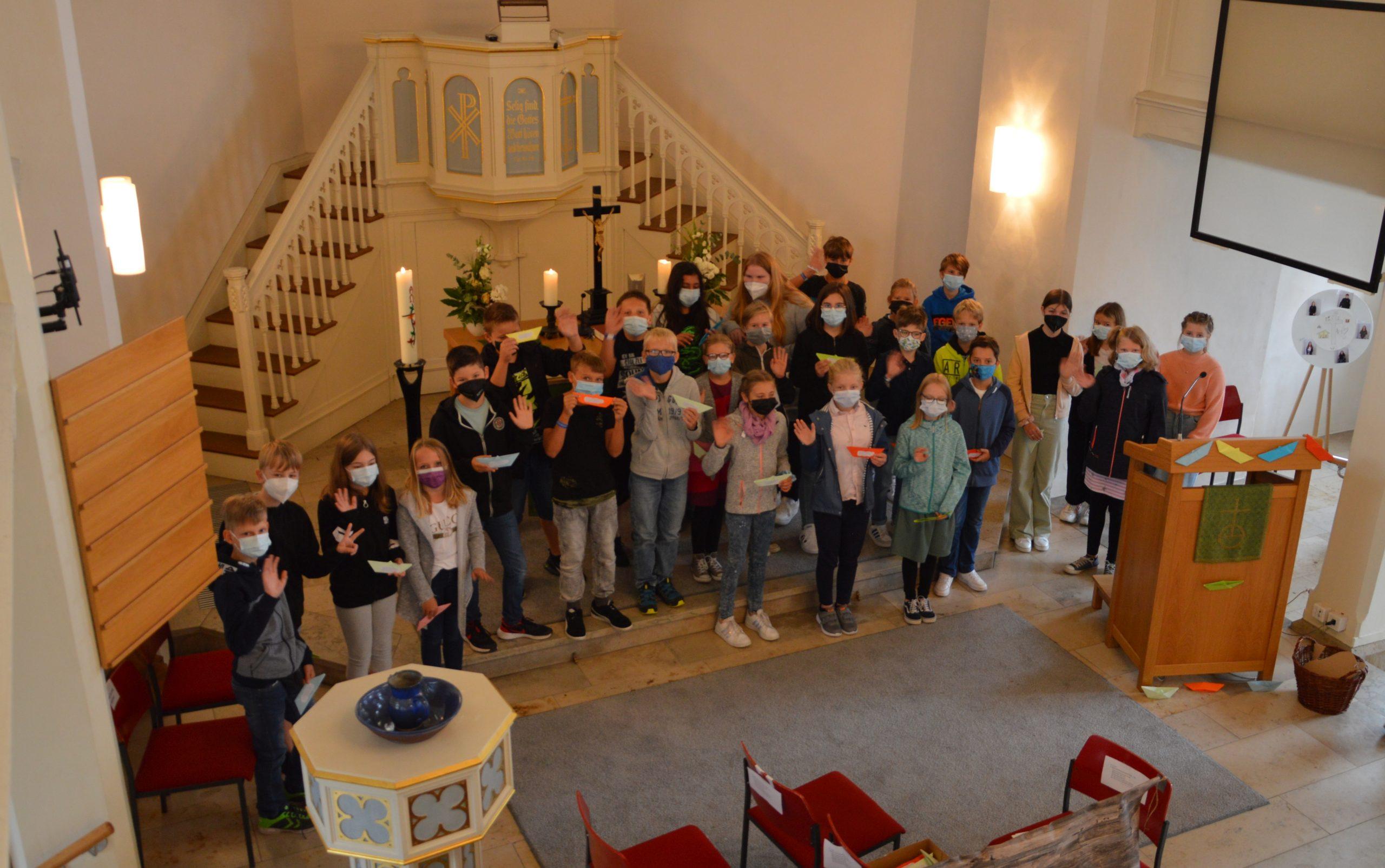 Christus Kirche_ESG_Fünftklässler