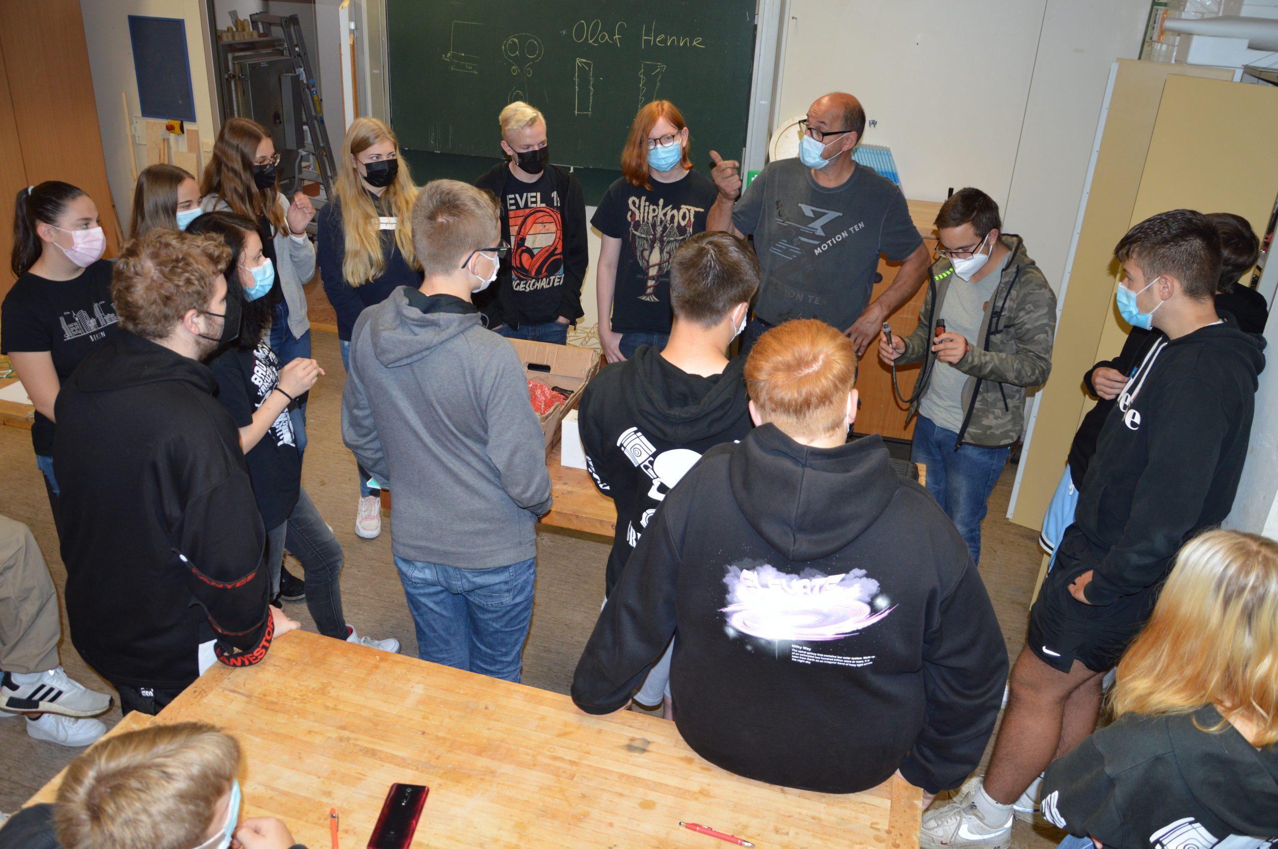 IGS Bdf._Café Beruf_Kfz Meisterbetrieb Olaf Henne_Gieselwerder